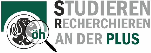 STUDIEREN RECHERCHIEREN an der PLUS